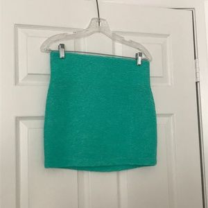 BCBGeneration Skirts - BCBG Mint Green Bandage Skirt SZ S